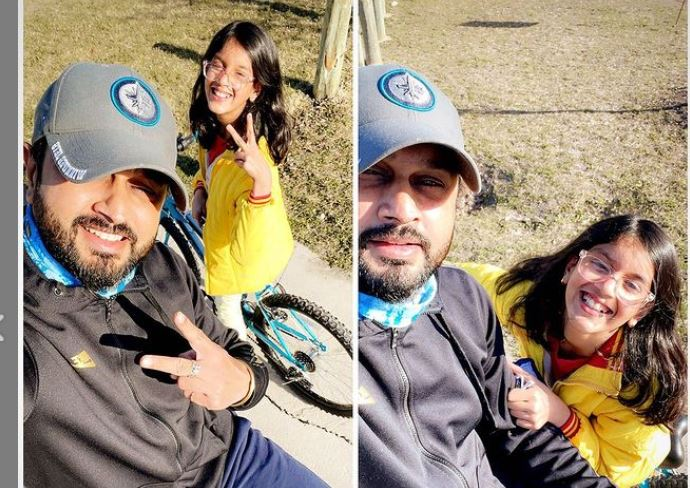 roshan prince with daughter