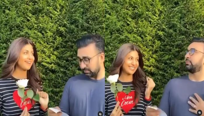 shilpa shetty and raj kundra made funny video for fans entertainment