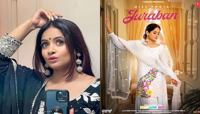 singer miss pooja shared new poster of her upcoming song juraban