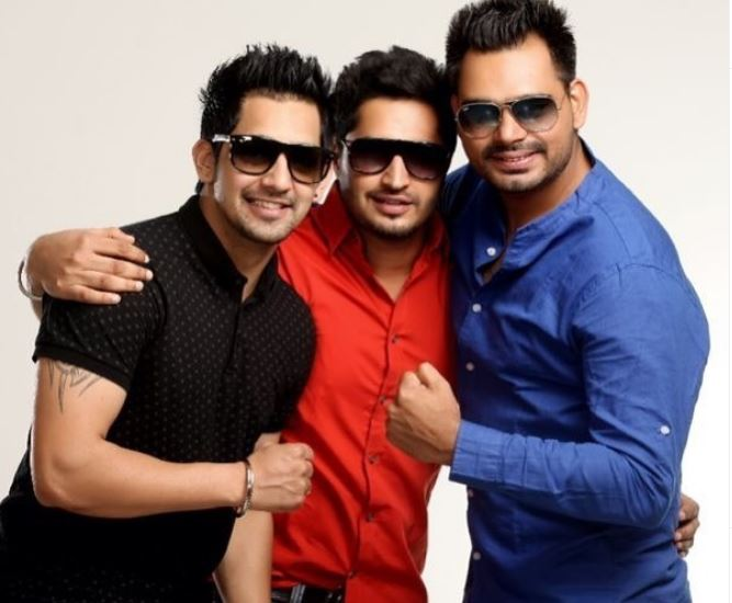 singer prabh gill with best friends