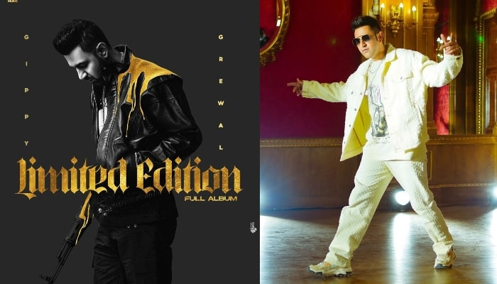 Gippy Grewal finally reveals the title of his upcoming album 'Limited  Edition' along with the first look poster!