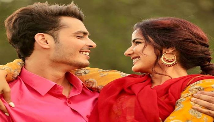 Gurnazar chattar shared new image with jasmin bhasin and give the infromation about his new song