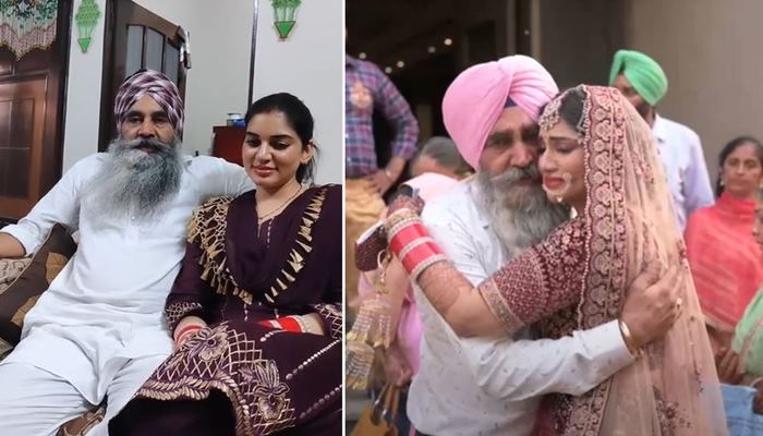 actress drishtii grewal shared her father singing song video with fans