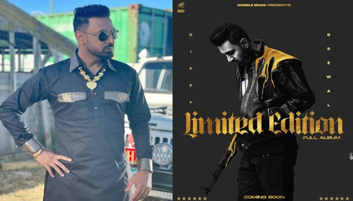 gippy grewal shared his new music album limited edition poster