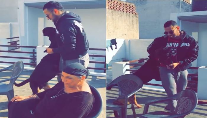 punjabi Singer garry sandhu shared unseen video of his late mother and rombo