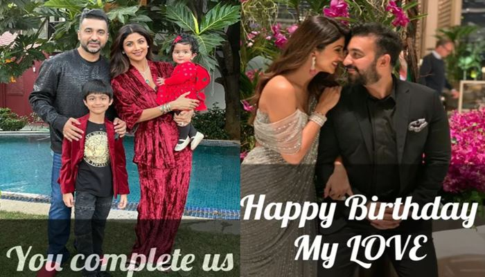 shilpa shetty and her family
