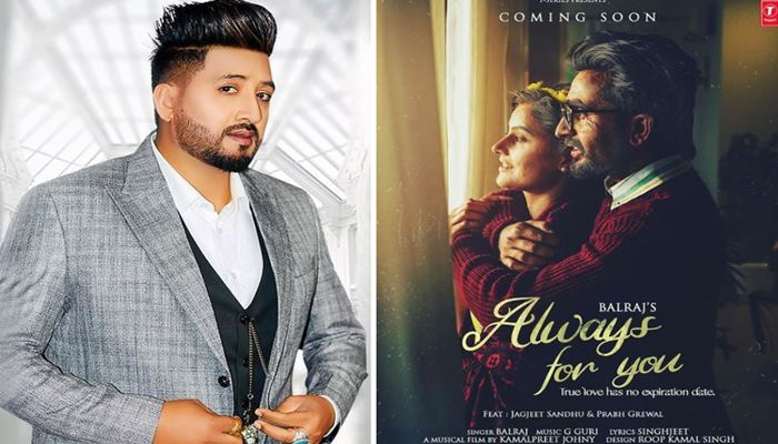 singer balraj brings new song always with you
