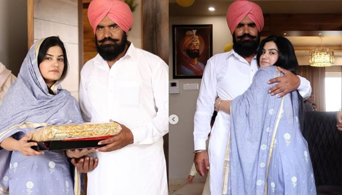 singer kaur b shared her father picture and wishe happy father's day to everyone