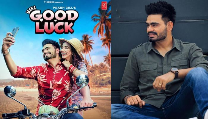 singer prabh gill shared first look of his upcoming song mera good luck with fans