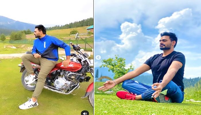 singer prabh gill shared his cute images from kashmir