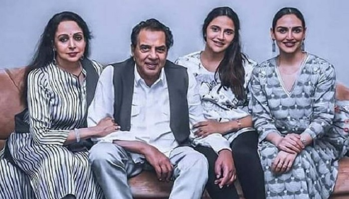 Dharmendra with family