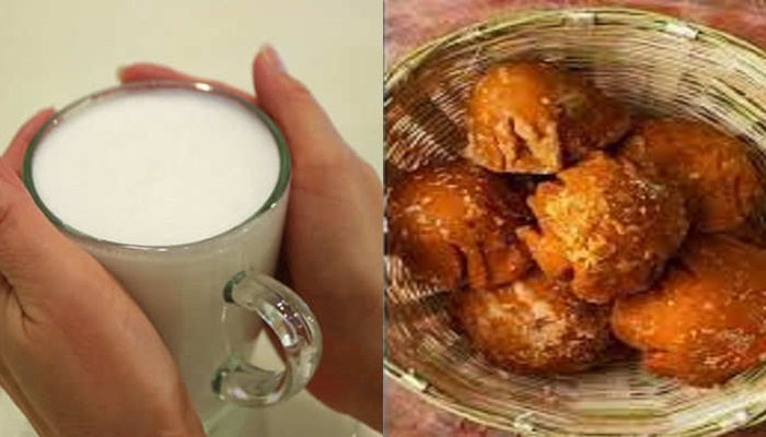 Milk And Jaggery