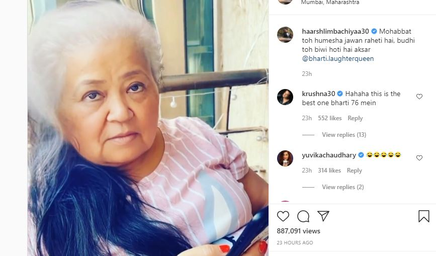 bharti singh shared funny viede