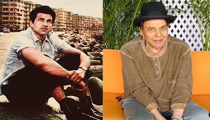 dharmendra shared his old image with fans