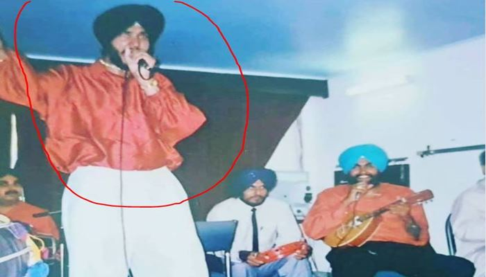 satwinder bugga shared old image of his young time