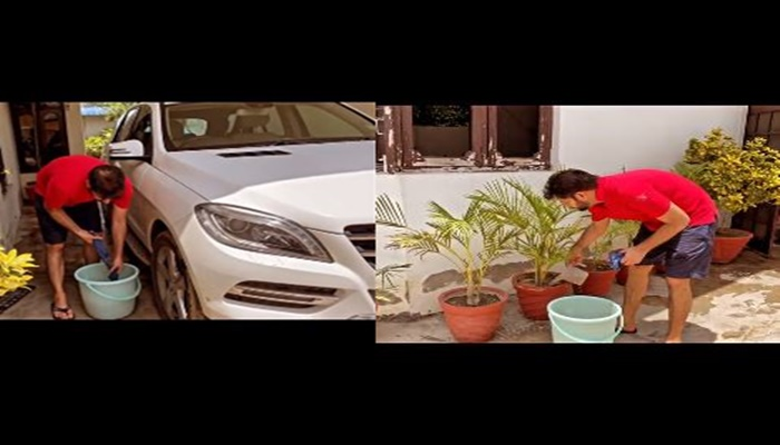 singer jasbir jassi shared special video about water saving