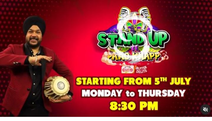 stand up te paao khapp new comedy show