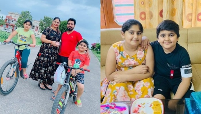 Bhupinder Gill With Family pp-min