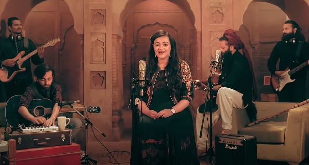 inside image of anumeha bhasker new song laaiyan laaiyan song out now