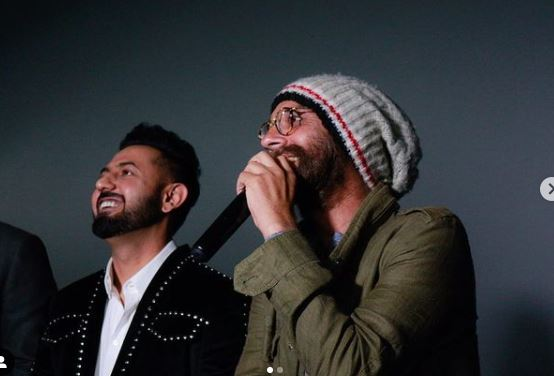 inside image of bljit singh deo and gippy grewal