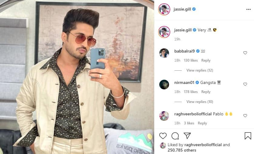 inside image of jassie gill new look-min