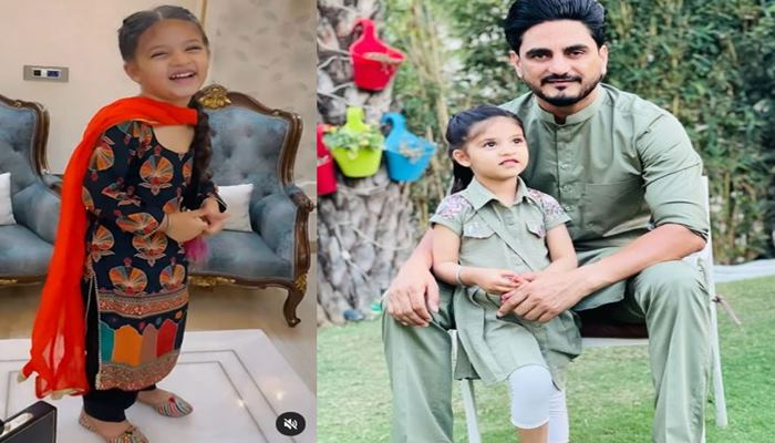 kulwinder billa shared his daughter saanjh cute video with fas