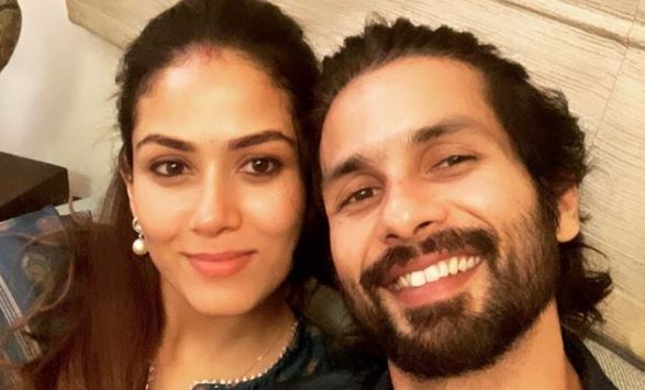 inside image of shahid kapoor with mira