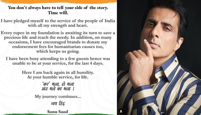 sonu sood first post after 20crore tax issues-min